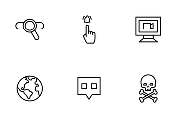 Multimedia And Communication Icon Pack
