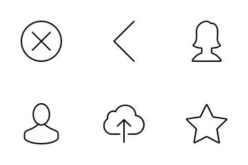 Multimedia Set Icon Pack