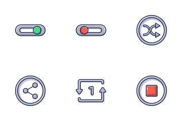 Multimedia & UI Icon Pack