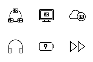 Multimedia Vol - 1 Icon Pack