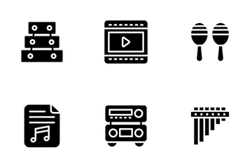 Music And Audio Icon Pack