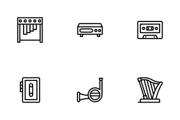 Music And Instrument Icon Pack