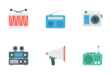 Music And Multimedia Icon Pack