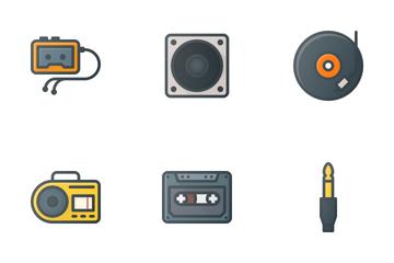 Music & Audio Icon Pack