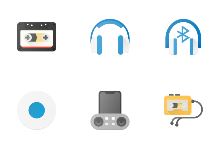Music & Audio Icon Pack