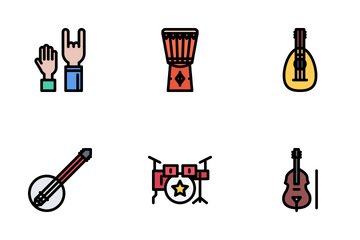 Music Colored Icon Pack