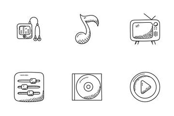 Music Doodle Icons  Icon Pack
