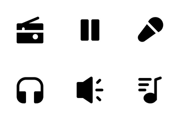 Music Element Icon Pack