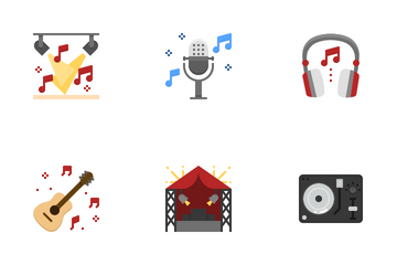 Music Festival Icon Pack