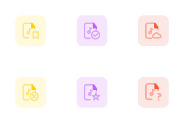 Music File Icon Pack