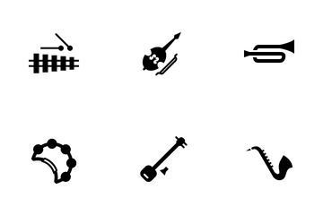 Music Instrument Icon Pack
