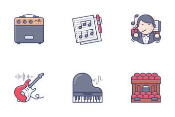 Music & Instrument Vol.1 Icon Pack