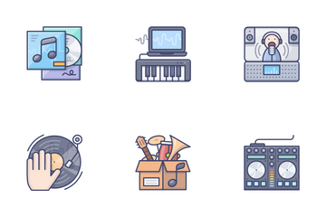Music & Instrument Vol.2 Icon Pack