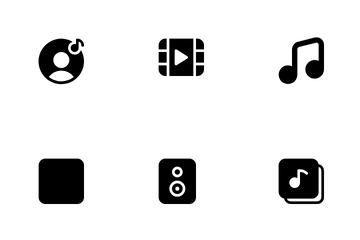 Music & Media Player Icon Pack