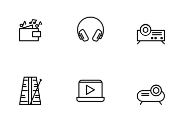Music & Multimedia Icon Pack