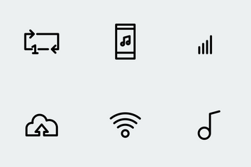 Music Player Icon Pack