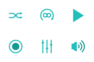 Music Player Button Icon Pack