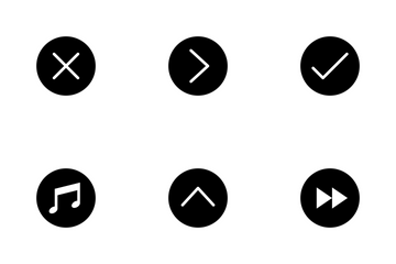 Music Player Control Icon Pack