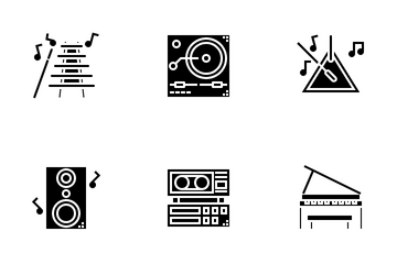 Music Solid Icon Pack