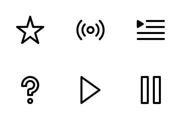 Music UI Icon Pack