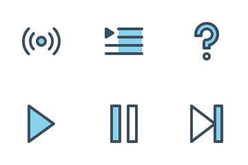 Music UI Icon Pack
