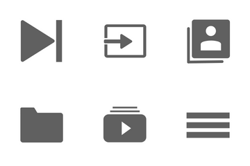 Music User Interface Icon Pack