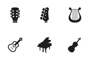 Musical Instruments Icon Pack