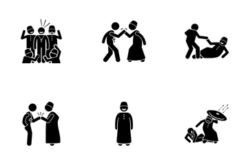 Muslim And Christian Icon Pack