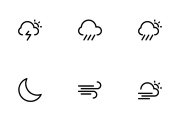 Mutuline Weather Icon Pack