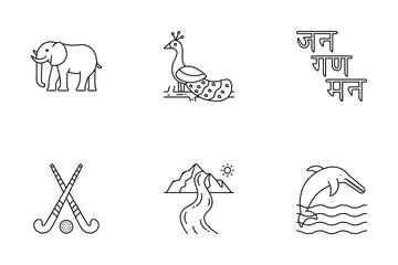 National Symbols Of INDIA Icon Pack