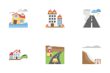 Natural Disaster Icon Pack