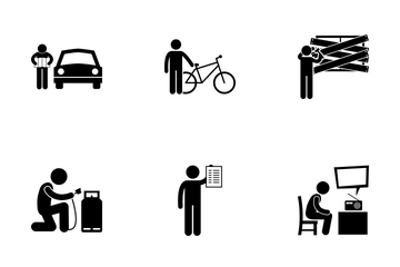 Natural Disaster Preparation Icon Pack
