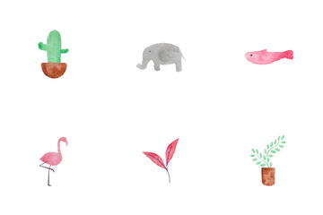 Nature And Animal Icon Pack