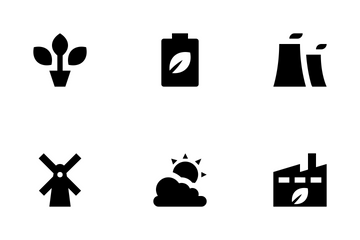 Nature And Ecology Icon Pack