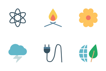 Nature And Ecology Icons Icon Pack