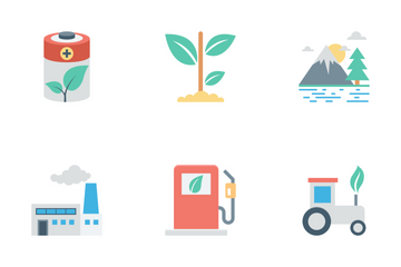 Nature And Ecology Vol 1 Icon Pack