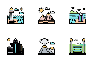 Nature And Landscape Icon Pack