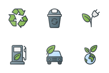 Nature & Ecology Icon Pack