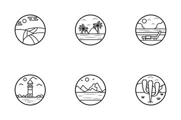 Nature Landscape Icon Pack