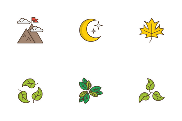 Nature & Outdoors Icon Pack