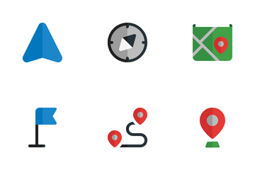 Navigation - Flat Icon Pack