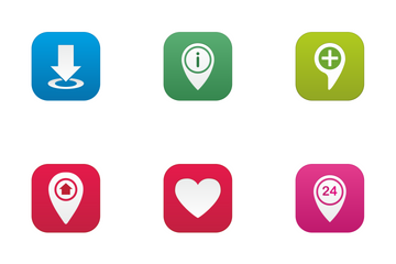 Navigation UI Icon Pack