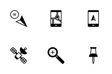 Navigation & UI Icon Pack