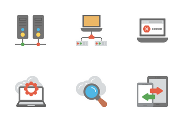 Network And Cloud Computing 1 Icon Pack