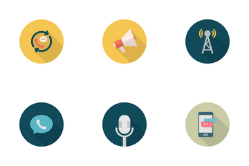 Network And Communication Icon Icon Pack