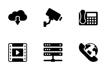 Network And Communication Vol 3 Icon Pack