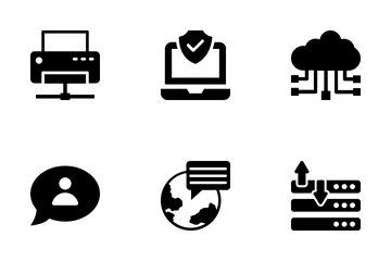 Network And Communication Vol 4 Icon Pack