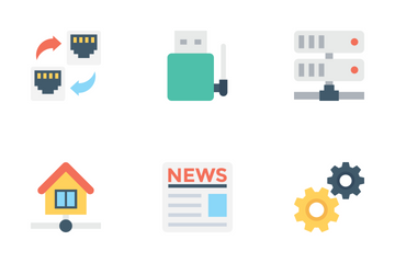 Network And Communications 1 Icon Pack