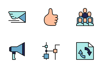 Network And Communications 2 Icon Pack