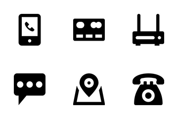 Network And Communications Icon Pack